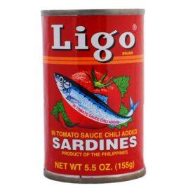 Ligo Sardines Spicy