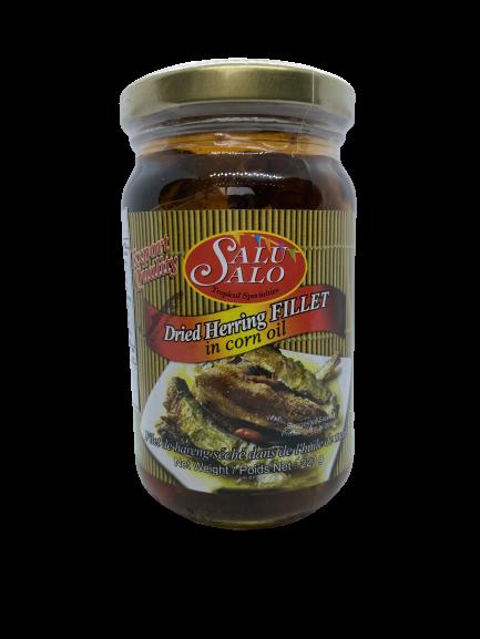 Salu Salo Dried Herring Fillet in corn oil